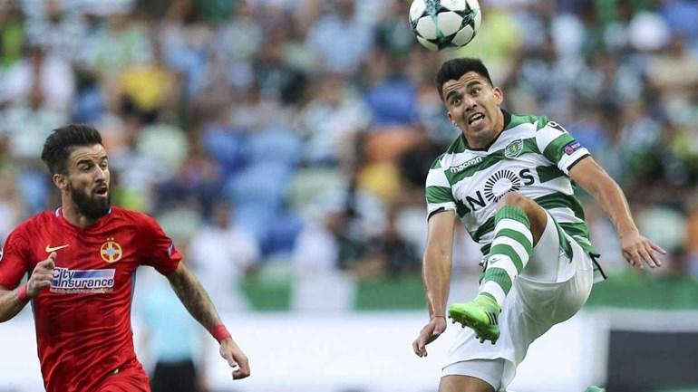As imagens que marcam o Sporting-Steaua