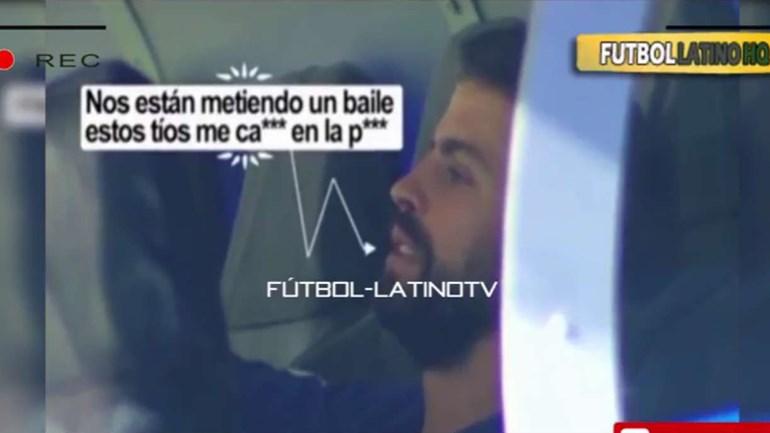 Desalento no banco: Piqué reconhece estar a levar um baile do Real Madrid