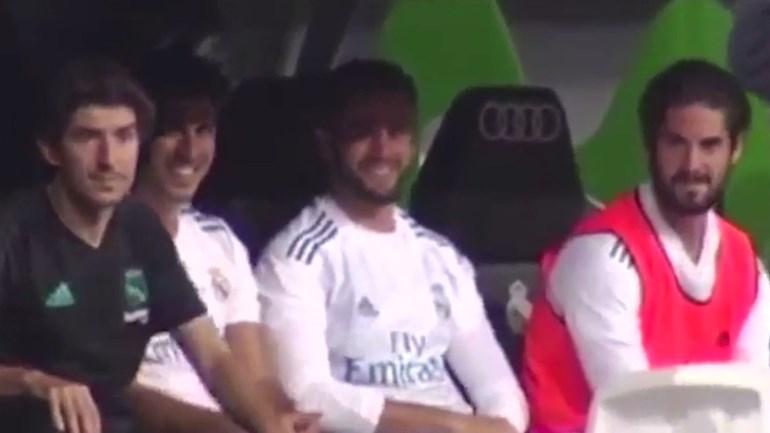 Jordi Alba mandou calar o banco do Real Madrid e a reação foi esta!
