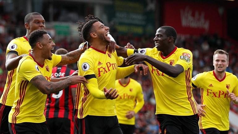 Richarlison comemora gol no Inglês: 'Feliz por estar sendo útil ao Watford'