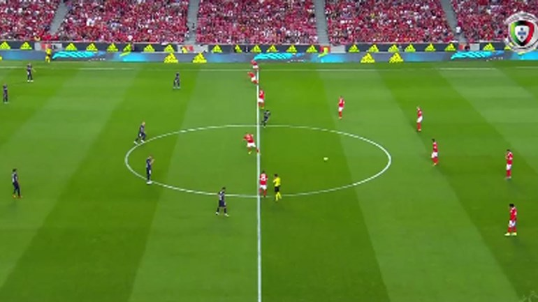 O resumo do Benfica-Belenenses (5-0)