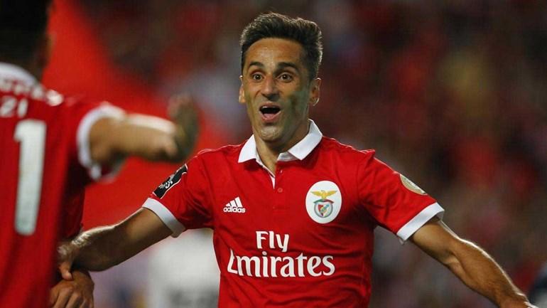 Jonas sobe a todo o gás na lista de melhores marcadores da história do Benfica