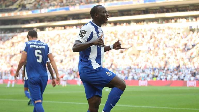Aboubakar dançou e apontou para o símbolo do FC Porto