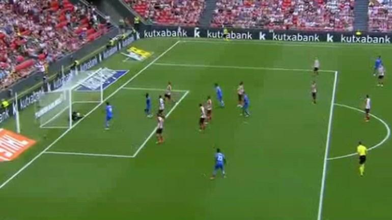 Getafe marcou golo limpo mas árbitro não viu a bola entrar