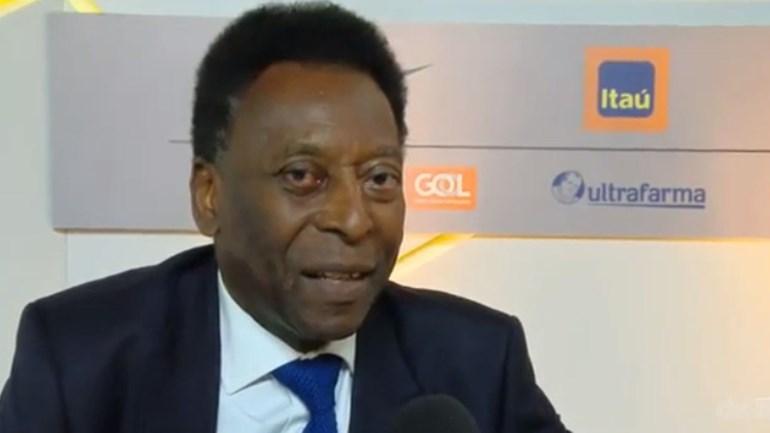 Pelé deixa um recado a Vinícius Jr.