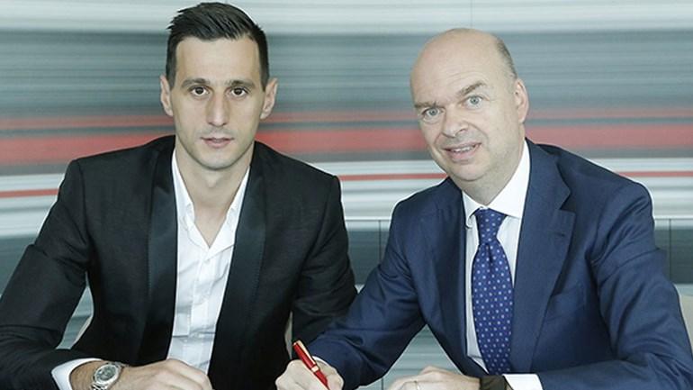 Kalinic já realiza exames médicos no AC Milan — Mercado