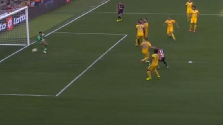 Autogolo de Pjanic faz história na Serie A