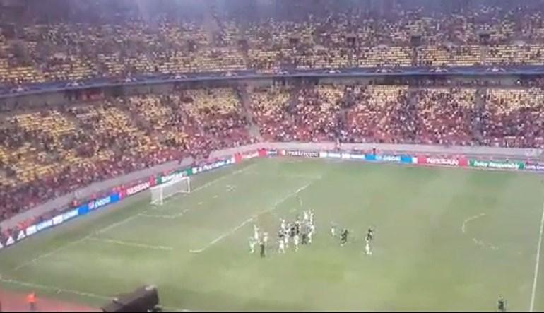 Jogadores do Sporting não esqueceram adeptos na hora de celebrar
