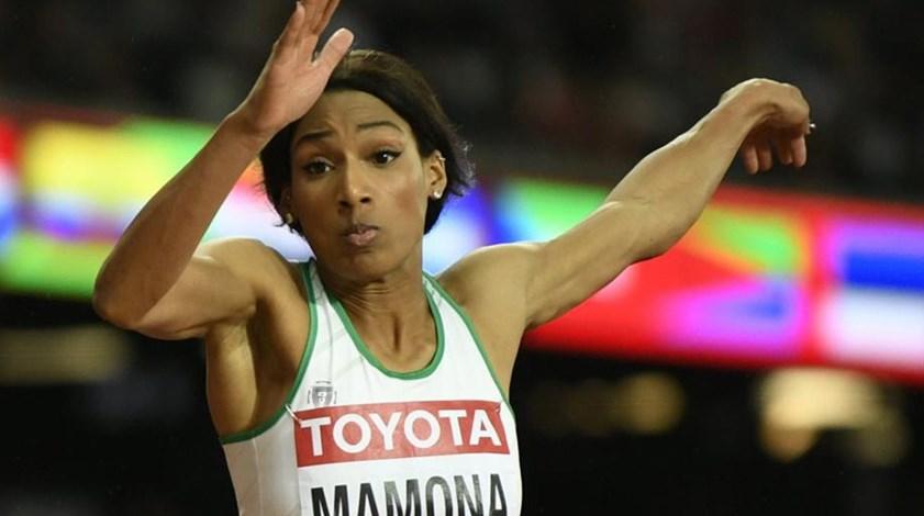 Patrícia Mamona oitava no triplo salto no Grande Prémio de Birmingham