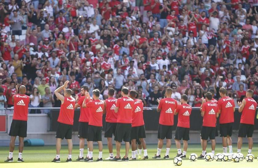 Os 21 convocados do Benfica para Aveiro — Supertaça