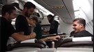 No avião da Seleção Nacional houve quem tivesse 'sofrido'