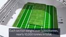 Novo estádio do Tottenham muda de relvado em 25 minutos
