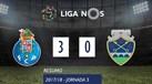 O resumo do FC Porto-Chaves (3-0)