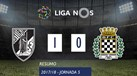 O resumo do V. Guimarães-Boavista (1-0)