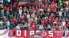 Joguem à bola: Como os adeptos do Benfica se despediram da equipa