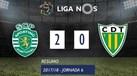 O resumo do Sporting-Tondela (2-0)