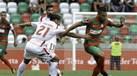 Aves protesta jogo com Marítimo devido ao estado do relvado