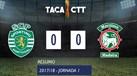 O resumo do Sporting-Marítimo (0-0)