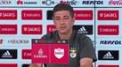 Rui Vitória faz a distinção entre fase e crise no Benfica