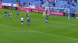 Pontapé de moinho de André Sousa é já um dos golos do campeonato