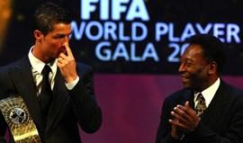 Pelé lança desafio a Ronaldo: «Agora só tens de marcar mais de 1283 golos!»