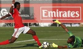 Benfica B-Real, 3-0: Jogo marcado pelo bis de Heriberto (e penálti falhado)