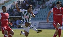 Crónica do V. Setúbal-Sp. Braga, 2-0: Três minutos loucos e... adeus 'tradição'
