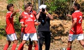 Liga Jovem da UEFA: Benfica entra a golear CSKA Moscovo