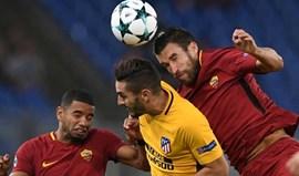 Roma e Atlético não conseguem desfazer o nulo