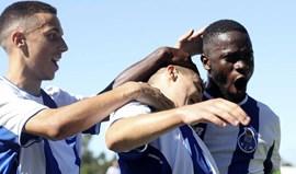 Liga Jovem da UEFA: FC Porto entra na prova com goleada