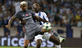 Factos e números do FC Porto-Besiktas