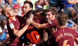 Barcelona vira o jogo em Getafe com dois suplentes decisivos