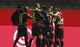Chaves-Moreirense, 3-0: Mãozinha do VAR aliviou a pressão