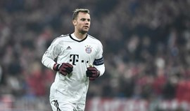 Manuel Neuer só volta às balizas em 2018