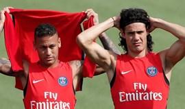 Neymar não faz por menos e quer correr com Cavani do PSG