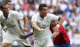 Ronaldo e Pepe entre os 55 candidatos ao onze do ano da FIFPro