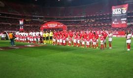 Benfica-Sp. Braga, 0-0 (1.ª parte)