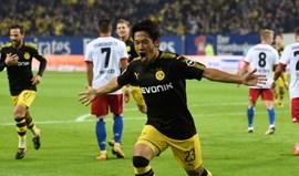 Hoffenheim volta às vitórias e Dortmund isola-se nafrente