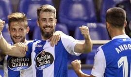 Golo de Luisinho garante primeira vitória do Deportivo