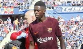 A primeira pergunta que Dembélé fez após a operação metia Real Madrid ao barulho