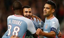Monaco goleia em Lille com mais um bis de Falcão