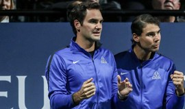 Dupla Nadal-Federer será uma realidade hoje na Laver Cup