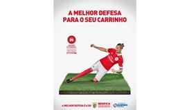 A melhor defesa é a do Benfica Seguros, o mote da nova parceria das águias
