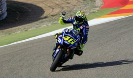 MotoGP: Rossi vai sair do 3.º posto no regresso