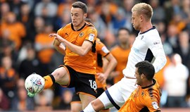 Wolverhampton de Nuno vence e mantém 2.º lugar no Championship
