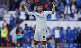 Morata brilha pelo Chelsea com hat trick em Stoke