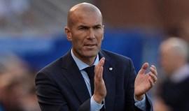 Zidane: «Ronaldo em branco? No final fará a diferença como sempre»