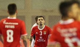 Benfica goleia no Barreiro por 14-3