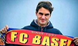 Roger Federer: um trunfo do Basileia frente ao Benfica