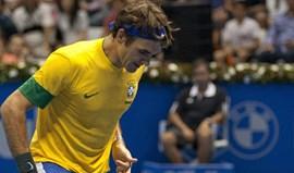 Federer tem relação de amor-ódio com o futebol